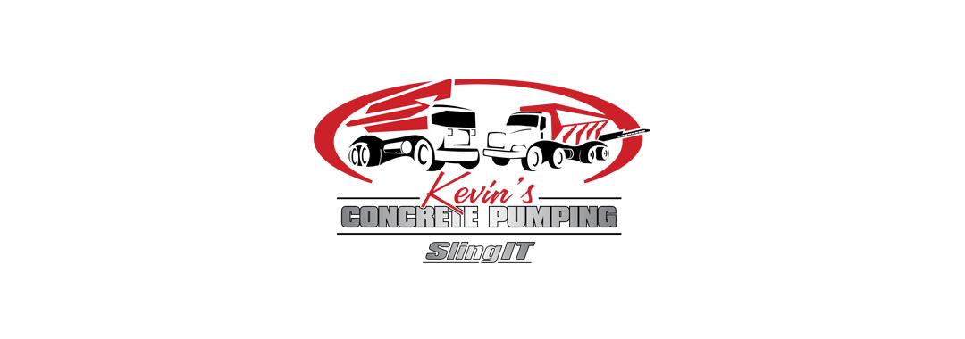 Kevin's Concrete Pumping logo