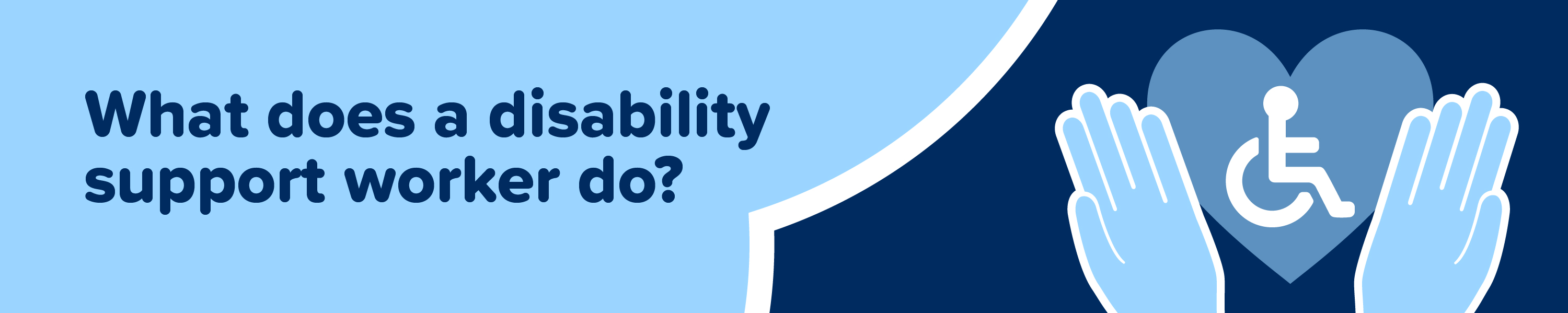 What does a disability support worker do? Disability Support Worker job description.