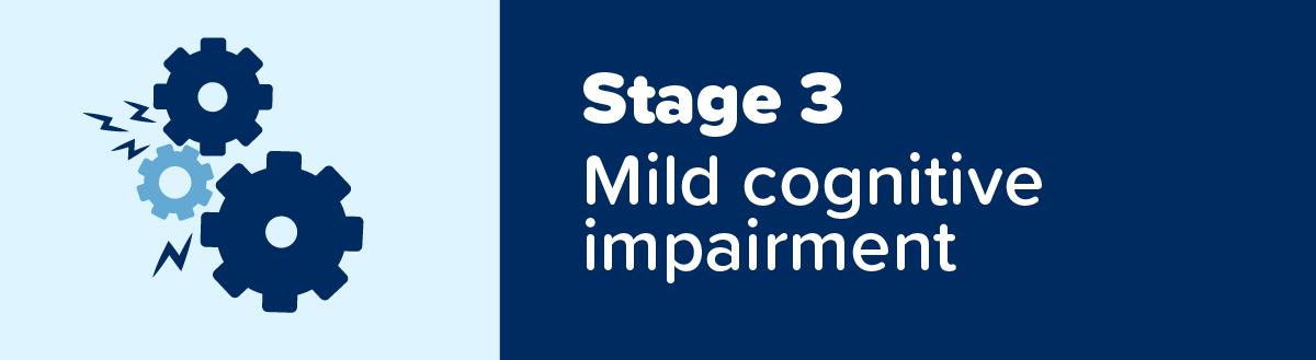 Stage 3 Dementia: Mild Cognitive Impairment