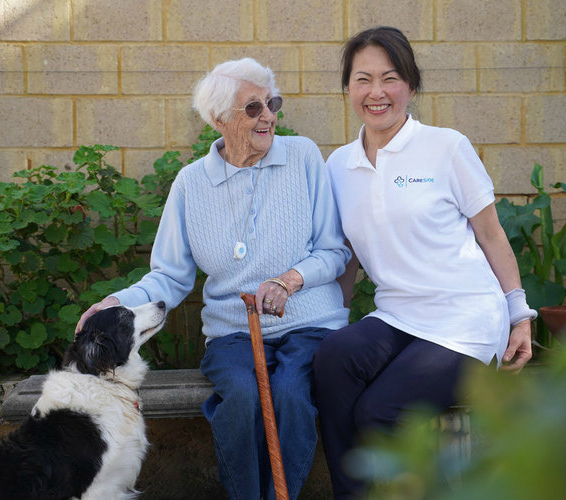 How live-in care works with The CareSide