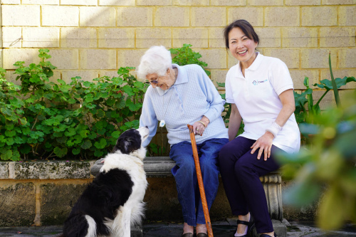 Overnight home care lets you keep your pets