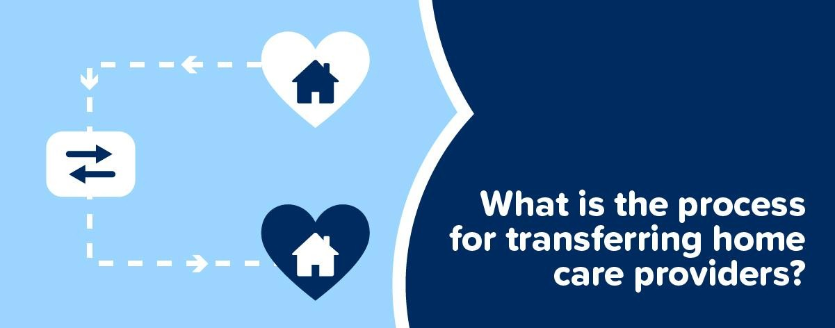 What is the process for transferring home care providers?