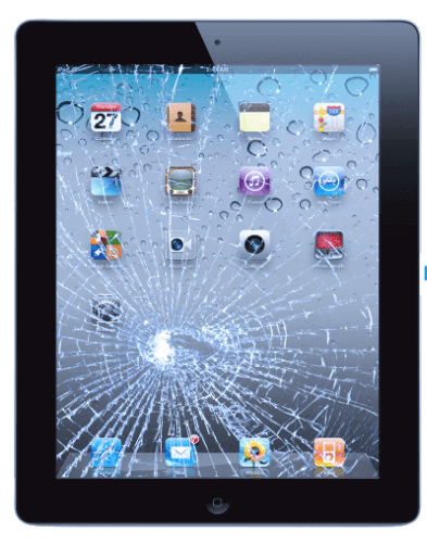 iPad screen replacement service