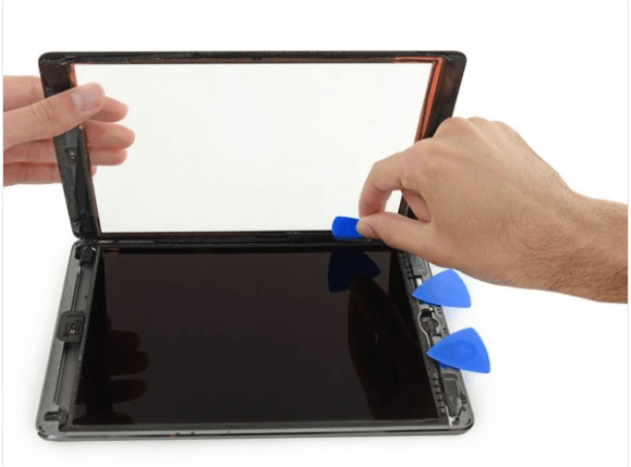 iPad Air touch screen or front glass replacement cost
