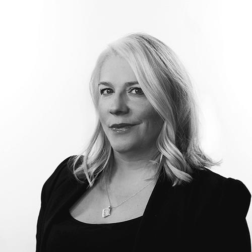 B&W headshot of Jennifer Atkinson