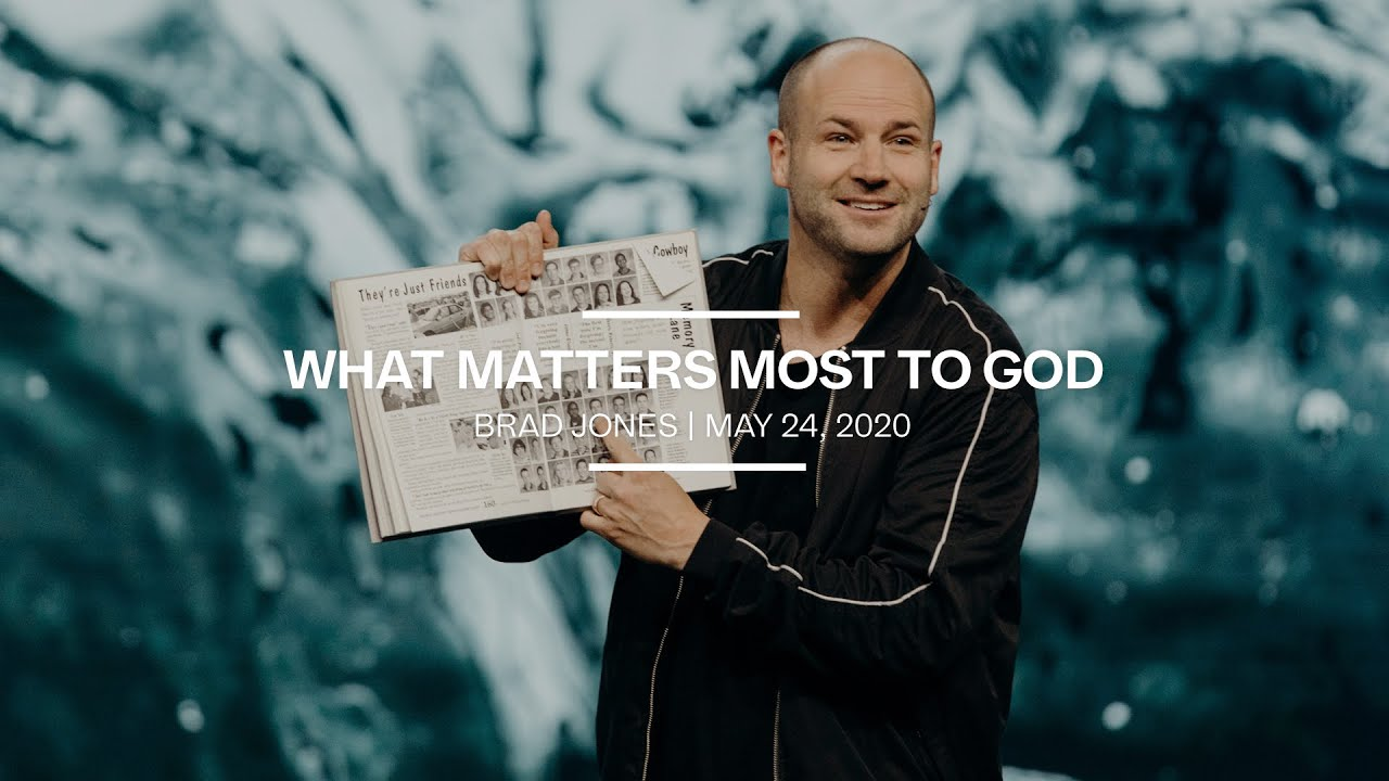 What Matter's Most to God