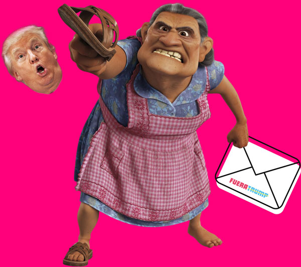 Fuera Trump - Vote by Mail