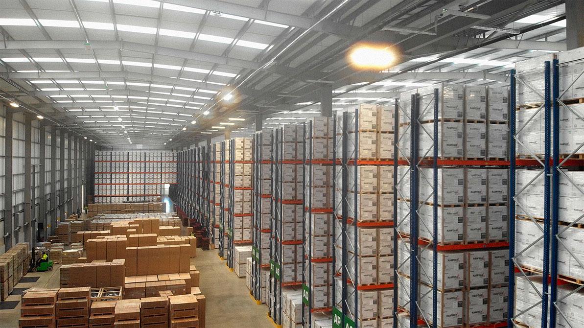 Linkline warehouse in Wellingborough, Northamptonshire