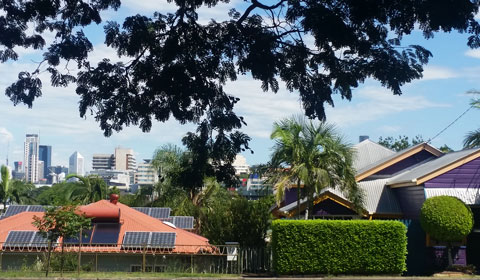 Brisbane suburbs