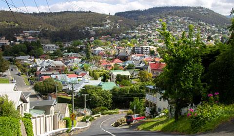 Hobart suburbs
