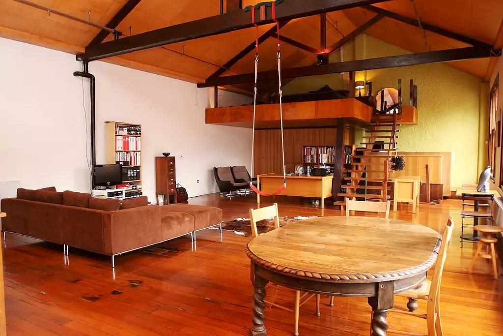 Wooden Themed Loft
