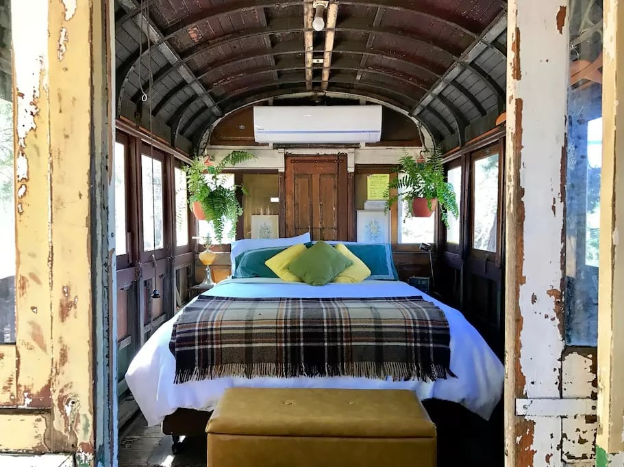 Unique Caravan Bed