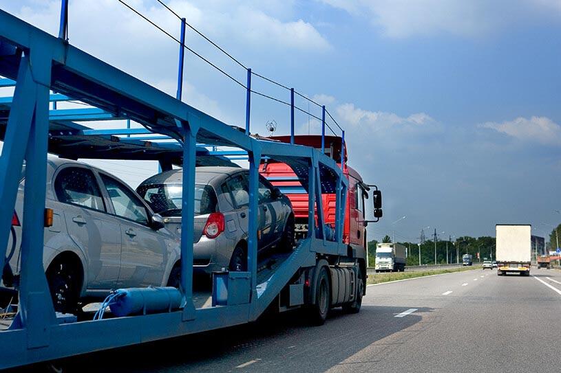 trailer used for interstate car transport