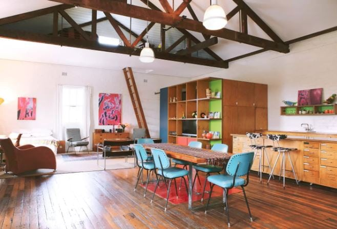 Massive Loft Apartment Marrickville Sydney Airbnb