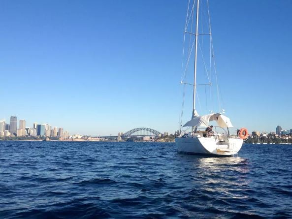 Boat Cruise Yacht Sydney Harbour Airbnb