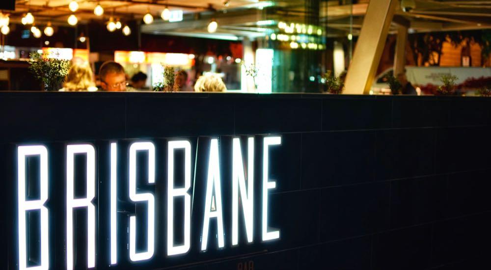 A Brisbane restaurant.