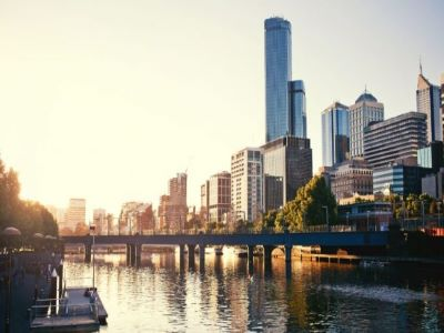 Melbourne Southbank river