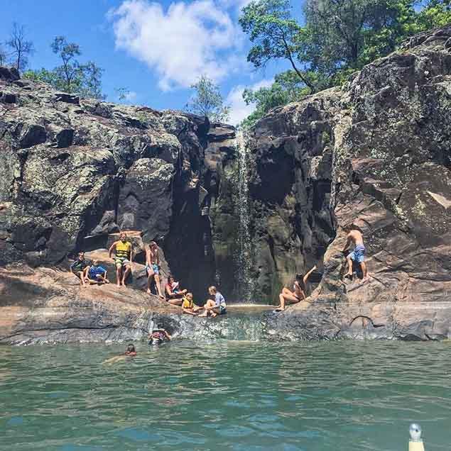 Brisbane Swimming Thegorge Lake Moogerah Insta Jaymelouise