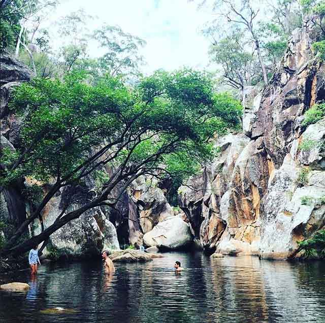 Lower Portals Mount Barney Brisbane Swimming Insta Visitscenicrim