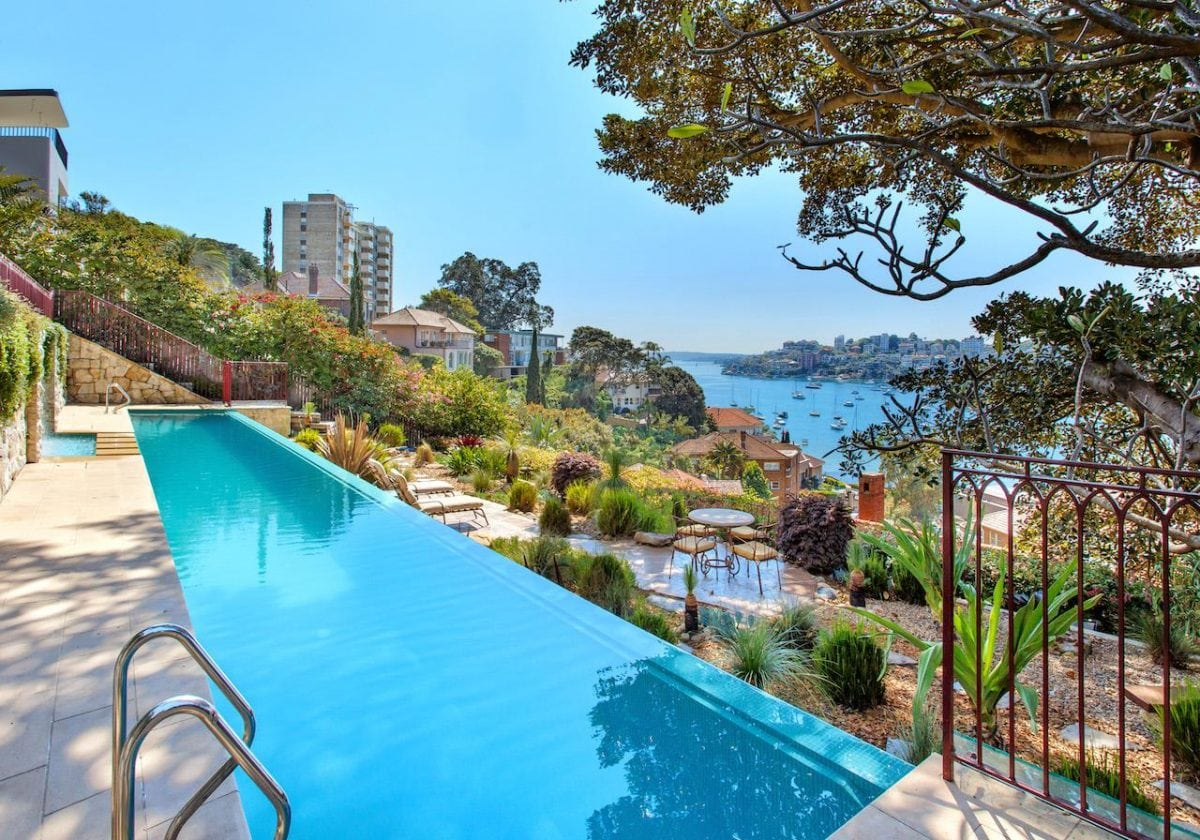 darling point sydney suburbs most expensive harbour view