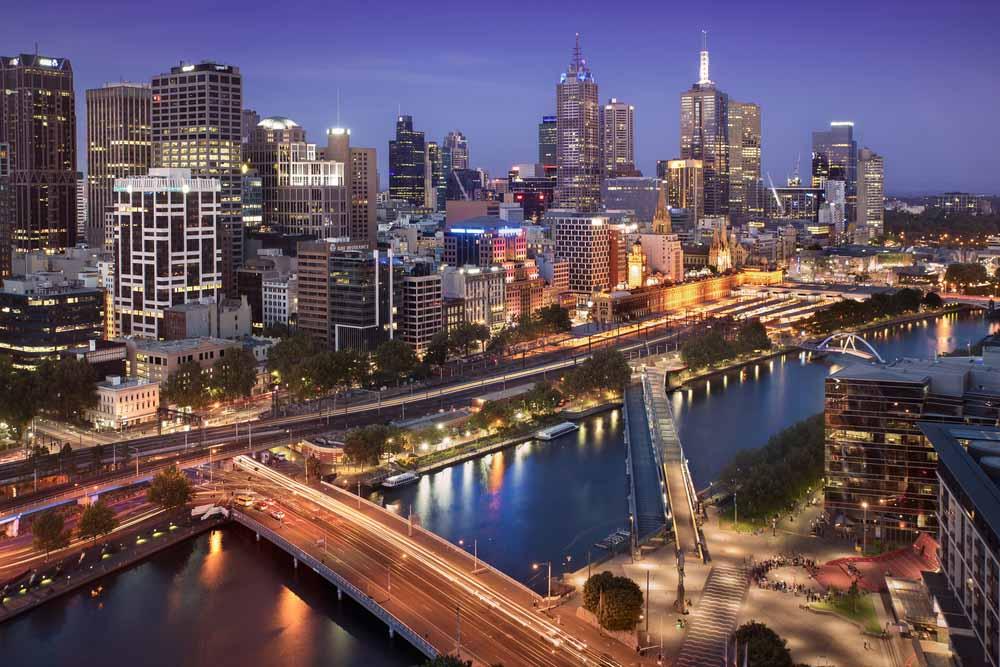 Melbourne night
