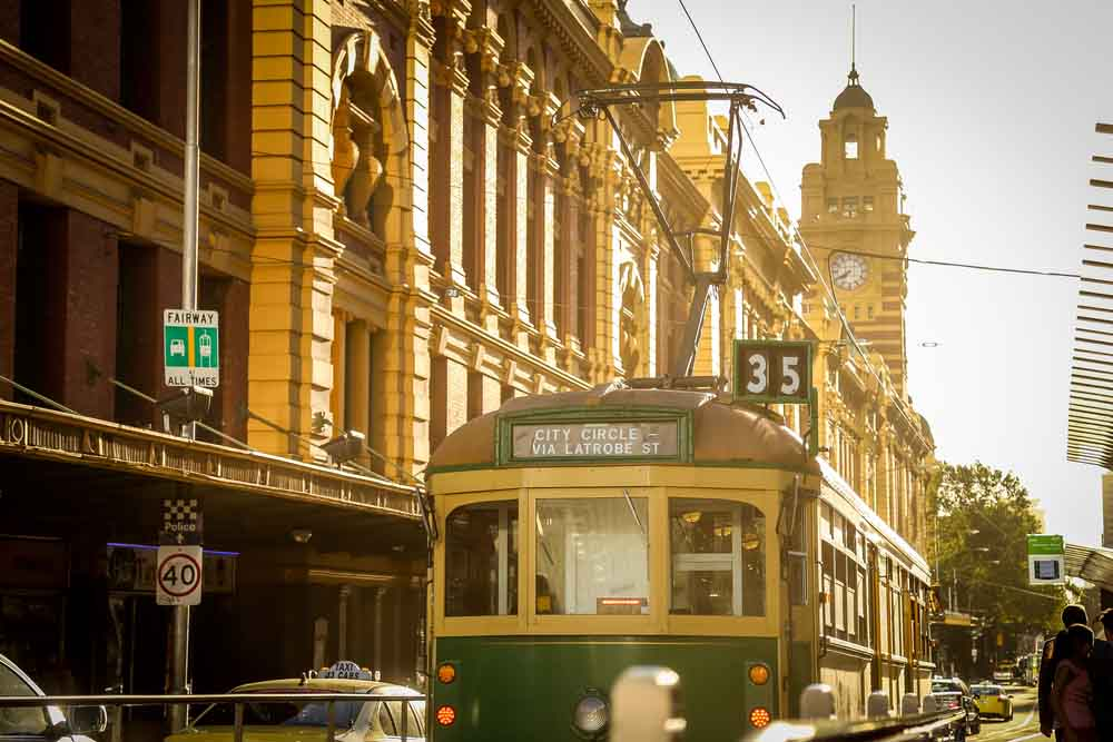 City Circle Tram Melbourne Free And Fun Things To Do