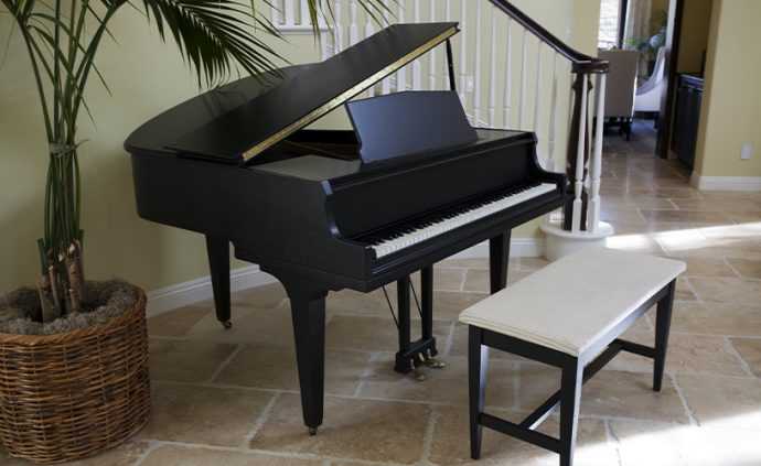 how to move a baby grand piano