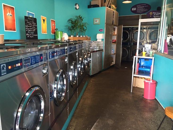 Machine Laundry Cafe Cafes Hobart Restaurants