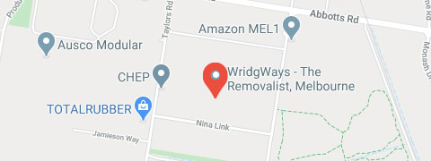 Melbourne WridgWays branch location