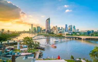 Brisbane waterside suburbs