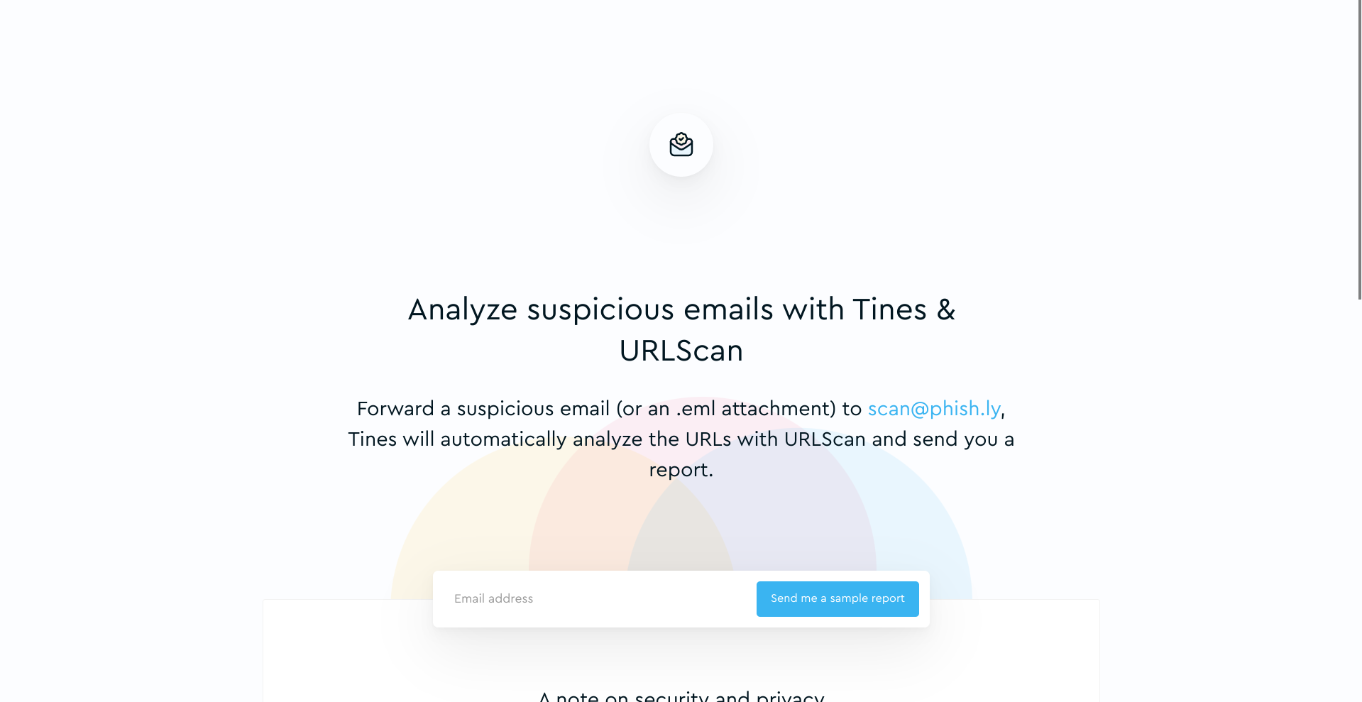 Phish.ly: Democratizing suspicious email analysis with Tines and urlscan