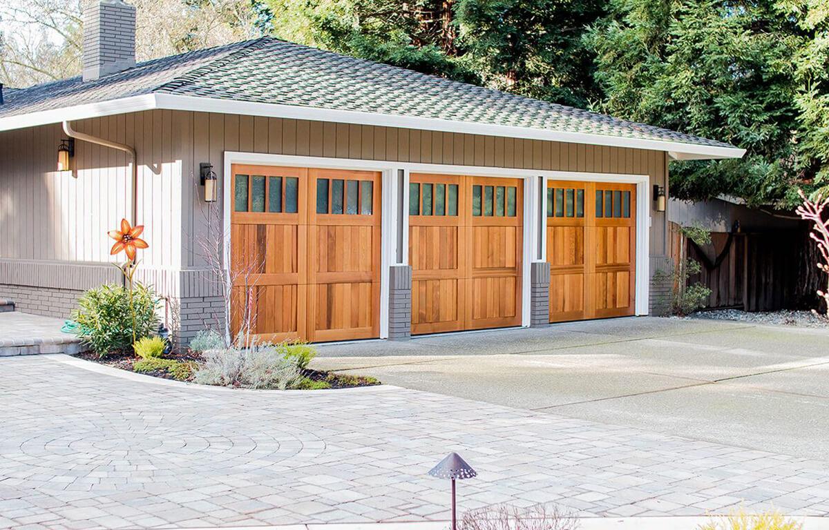 Custom Carriage House Garage Door RW Garage Doors