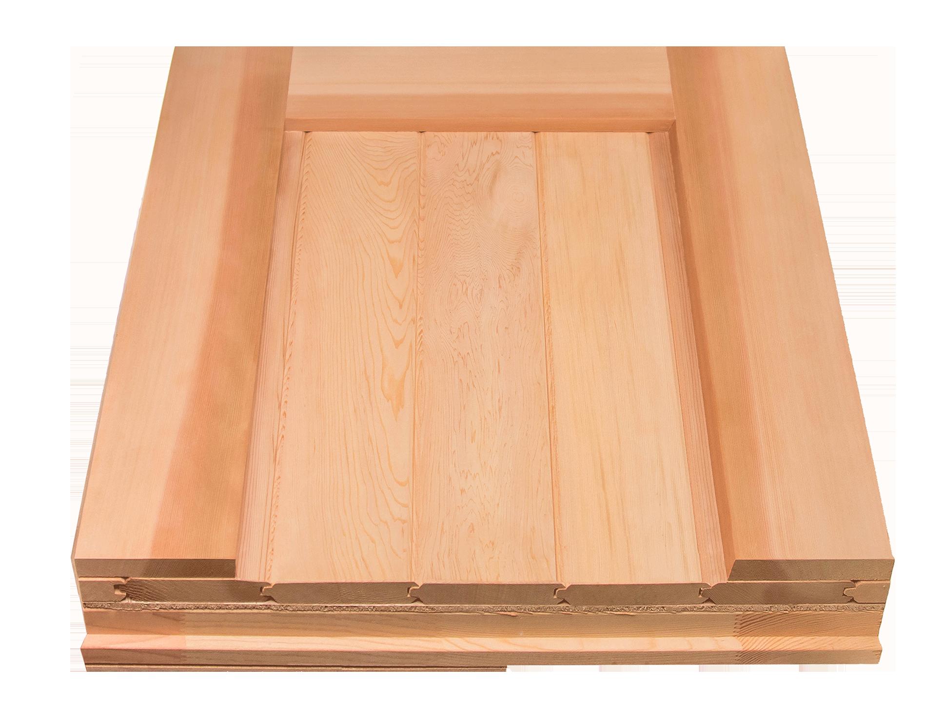 Western Red Cedar Eco Friendly Wood RW Garage Doors