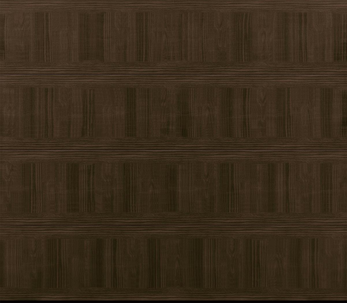 RW Garage Doors Amarr Modern Steel mahogany
