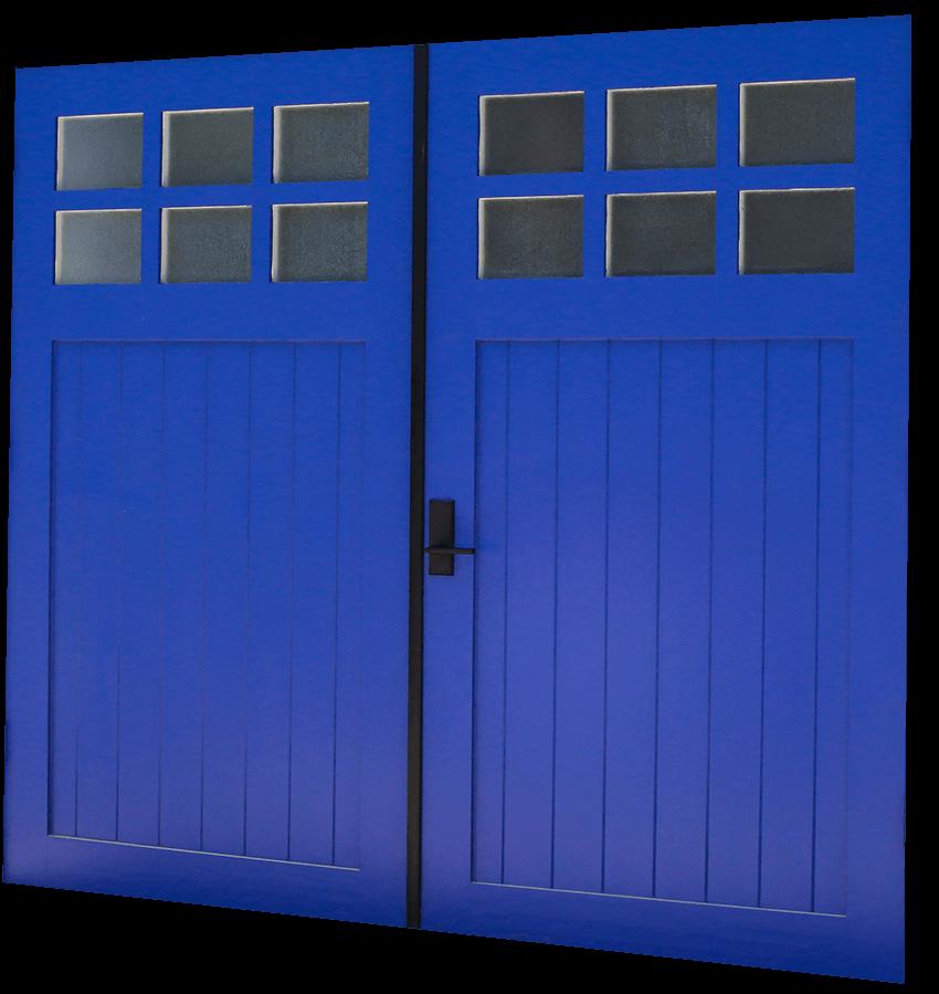 Custom Carriage House True Swing RW Garage Doors