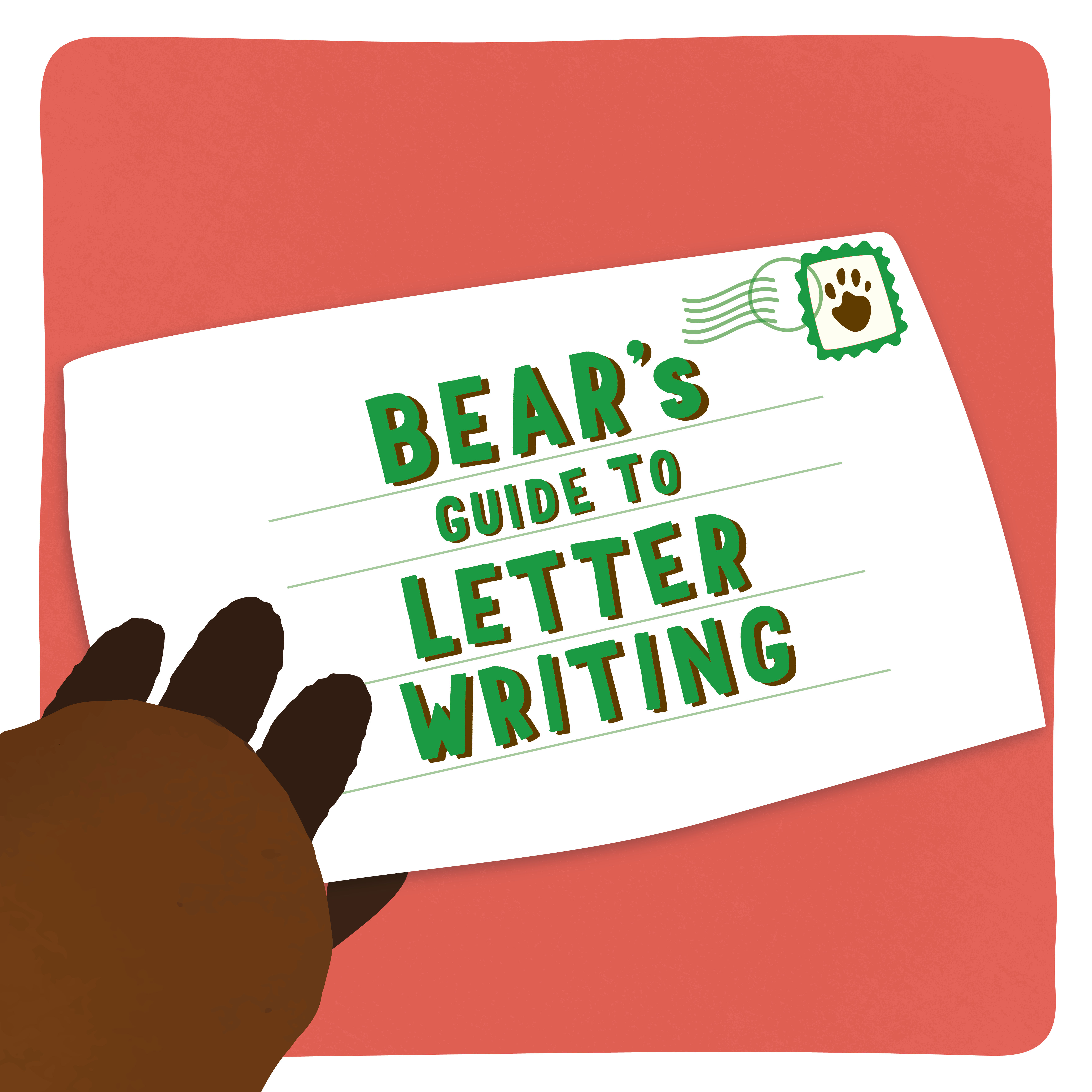 Letter writing BEARs Activity Cave