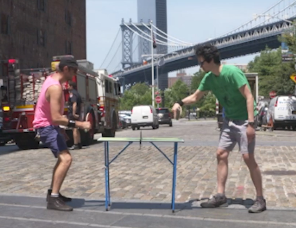 Mini Table Match Across the City