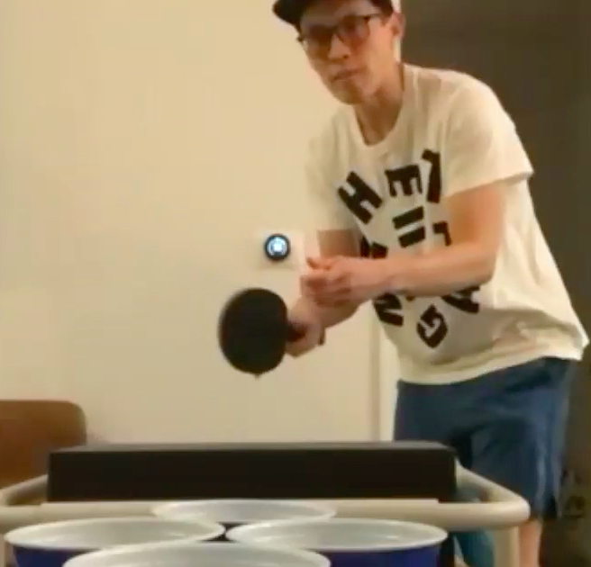 paddle cup ball