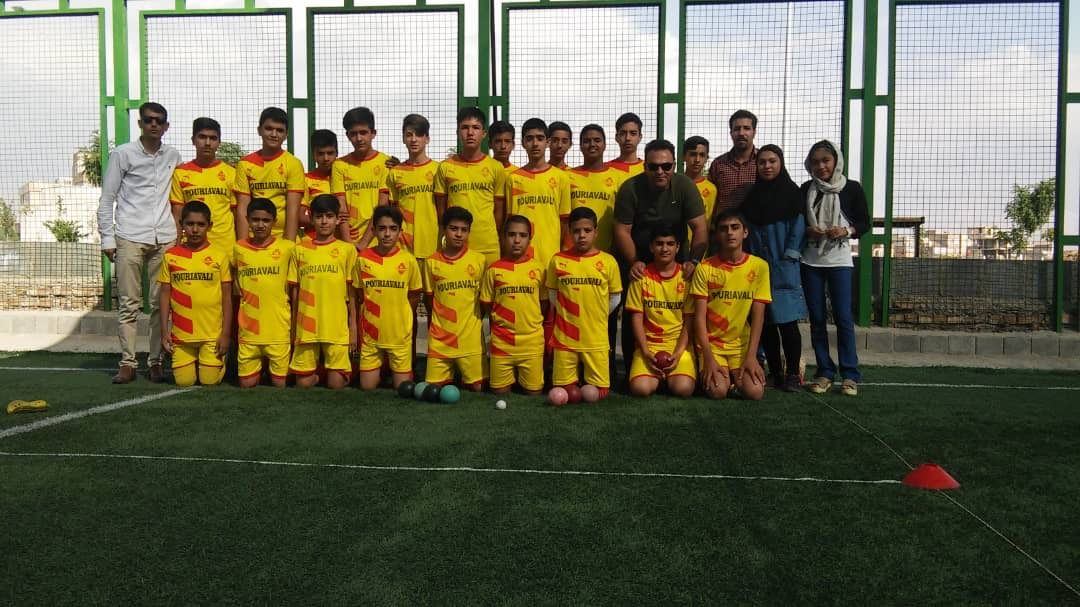 team of young athletes
