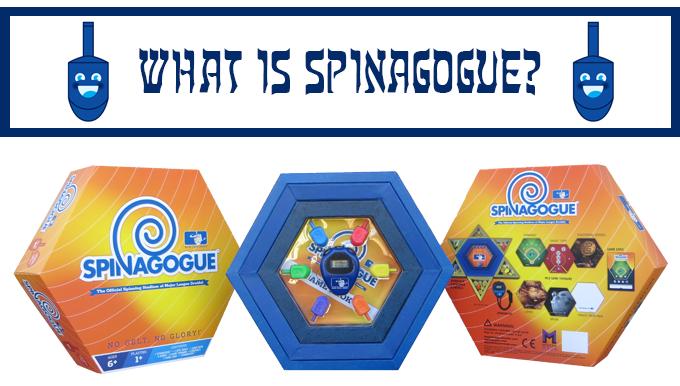 spinagogue board game