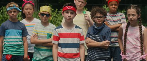 team of kids in bandanas