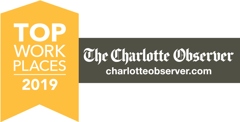 2019 Charlotte Observer Top Places to Work logo