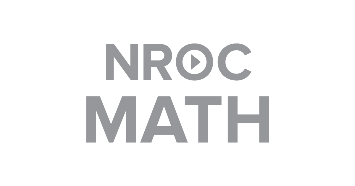 NROC Math logo