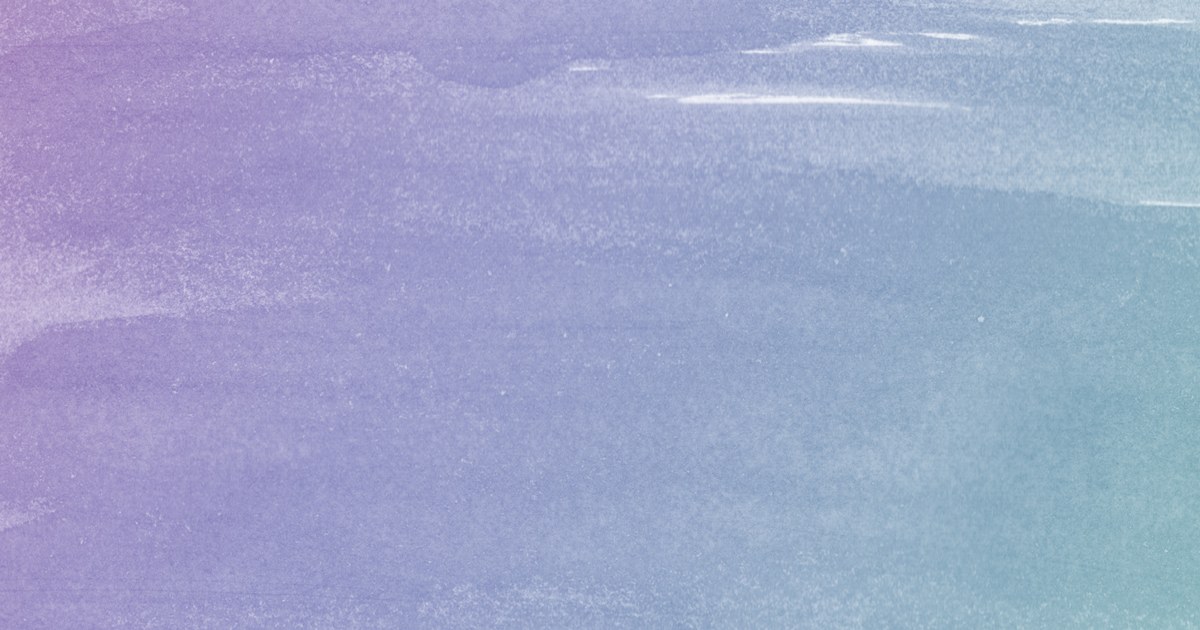 Gradient purple-to-green paintbrush strokes