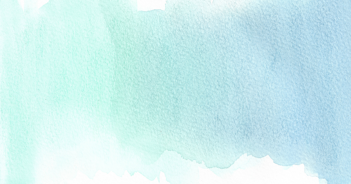 Teal to blue watercolor gradient
