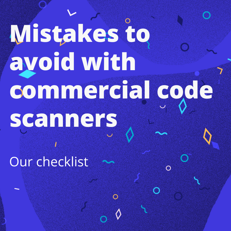Mistakes to avoid with commercial code scanners