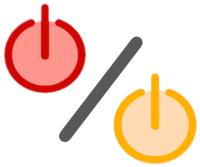 Zwei Stand-by Icons nebeneinander