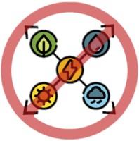 Icon der erneuerbaren Energien