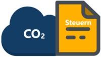 Icon, das die CO2-Steuer darstellt