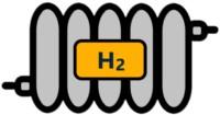 Icon einer Brennstoffzelle